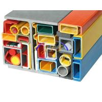 Buy cheap Standard FRP Pultruded Profile Fiberglass Profiles from wholesalers