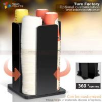 Buy cheap Black Home Convenience Store Cup Dispensers from wholesalers
