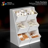 Buy cheap Acrylic Condiment Stands For Coffee Shops from wholesalers