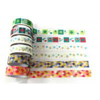 China PAPER DECO TAPE NEW DESIGNS New Designs Paper Tape Self Adhesive Deco Tape on sale