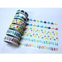 China NEW DESIGNS PAPER TAPE New Designs Paper Tape CMYK Printing Deco Tape on sale