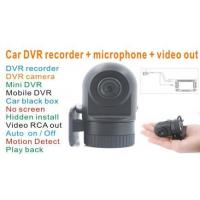 VCAN0435 Car DVR video recorder with microphone with video output to your screen