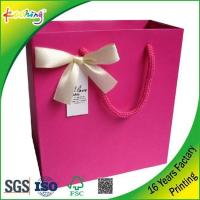 China Customized Printing Paper Retail Shopping Bag -  - on sale