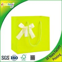 China Customized Printing Paper Retail Shopping Bag on sale