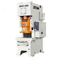 The JE21 series operates the type fixed platform press