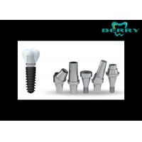 Buy cheap Zirconia Dental Implants Crowns , Complete Dental Implants FDA from wholesalers