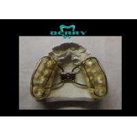 Rubber Coating Rapid Dental Orthodontic Appliances Plastic Tray Material Manufactures