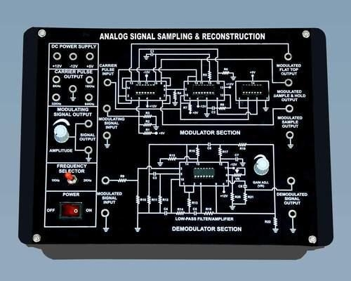Quality ANALOG SIGNAL SAMPLING & RECONSTRUCTION KIT for sale