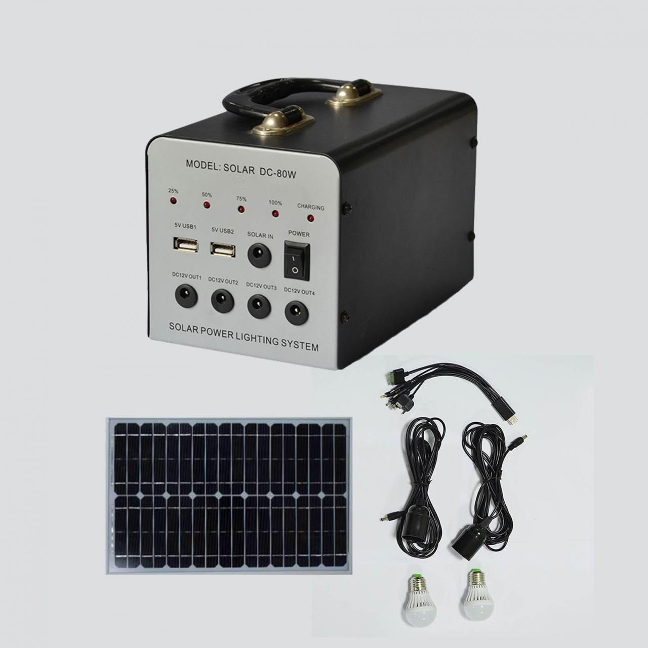 Buy cheap 30W small dc system manufactured emergency hang portable home use lighting system from wholesalers