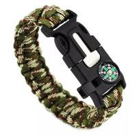 Gifts, Sports & Toys hm-01 Wholesale new designs bottle opener paracord bracelet with compass Manufactures