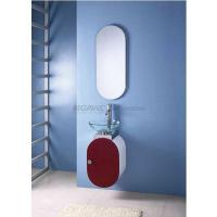 Buy cheap bathroom vanity with glass bowl sink MP-2040R from wholesalers