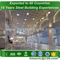 erecting a steel building made of modular structures considerately designed Manufactures