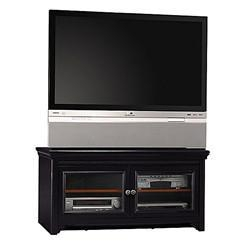 "Quality Stanford Antique Black 60"" Flat Panel Video Base for sale"
