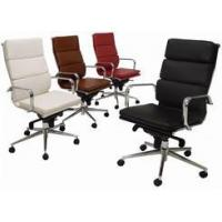 Buy cheap Ergonomic Chairs Leather Soft Pad High Back Chair from wholesalers
