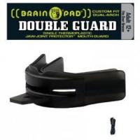 Buy cheap Protective Mouth Guards DOUBLE GUARD Black - Strap Included - Adult from wholesalers