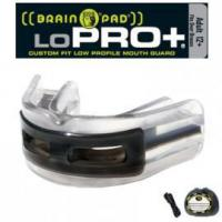 Protective Mouth Guards LoPro+ Black/Clear Adult Manufactures