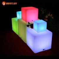 LED Decoration 40cm LED Cube For Chair or Decoration Manufactures