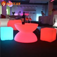 LED Table Fashion Modern Outdoor Luminous Plastic Table With LED Light Manufactures