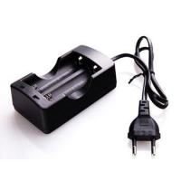 HZM EU Plug Double Battery Charger 2 Channel 3.7 V 18650 Li Ion Battery Charger Manufactures