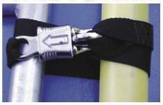 Quality Master Product List #CO11 - Spare Oar Holder w/Panic Snap, pair for sale