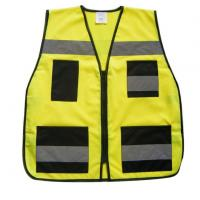 Buy cheap Reflective Safety Vest with Pocket from wholesalers