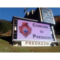 LED Screen Projects Italy 70m2 P25 Outdoor Advertising LED Display Project Manufactures