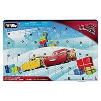 Disney Cars FGV14 Cars 3 Advent Calendar by Mattel Manufactures