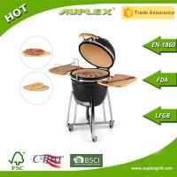 Buy cheap Outdoor Cooking Ceramic BBQ Smoker Kamado Grill from wholesalers