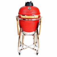 18 Inches Hot Red Charcoal Ceramic Grills Manufactures
