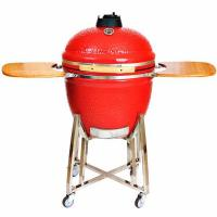23.5 Inches Red Big Egg Ceramic Grills Manufactures