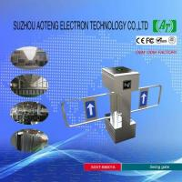 Access Control Vertical Swing Turnstile Gate Manufactures