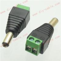 2pcs CCTV video balun 5.5X2.5mm DC Power plug Terminals Connector Adapter Power Manufactures