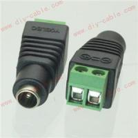 CCTV video balun 5.5X2.1mm DC Power Female Jack Terminals Adapter Manufactures