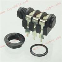 "2pcs 6.35MM 6.5MM mono/stereo headphone jack microphone 1/4"" panel wiring socket Manufactures"