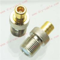 F female jack to SMB female jack RF coaxial adapter connector Manufactures