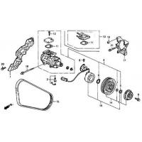 Buy cheap Belt, Compressor (Bando) from wholesalers