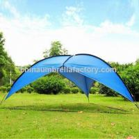 Outdoor new UV large awning, used for camping and beach activity, triangle shape Manufactures