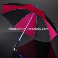 Buy cheap LED umbrella, shaft can be flash, torch handle from wholesalers