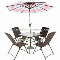 Buy cheap Steel Market Umbrella, Made of 160g Polyester from wholesalers