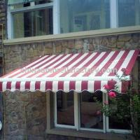 Aluminum outdoor retractable awning, suitable for balcony, window, patio awnings Manufactures