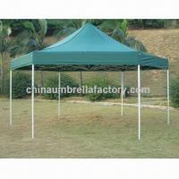 Outdoor 300D,PU Canopy Tent with Spring Steel Frame, Made of Nylon or Polyester Manufactures