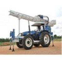 Tractor Mounted Drilling Rig with Single Rod Changer Manufactures