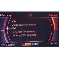 Buy cheap Audi 3G MMI TV RECEPTION (analogue and digital) from wholesalers