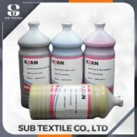 Buy cheap kiian E-GOLD inkjet dye sublimation heat transfer printing ink for ricoh epson surecolor from wholesalers