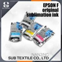 Buy cheap Epson compatible sublimation ink Yellow color with chips for sale from wholesalers