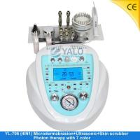 Super Diamond Microdermabrasion Series YL-706 (4in1) Microdermabrasion with LCD