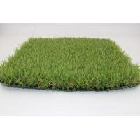 Synthetic Grass Natural Look Wider Blade Dark Green Light Green Soft Environmental Playground Turf Manufactures