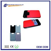 Personalized Adhesive Card Holder Silicone Phone Pocket Wallet Sticker