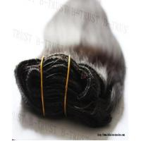China Hair extensions clip in hair extension on sale
