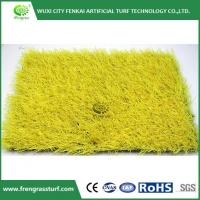 Buy cheap Yellow Artificial Turf from wholesalers